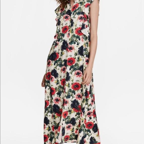 H&M Dresses & Skirts - H&M Floral Ankle Length Dress NEVER WORN